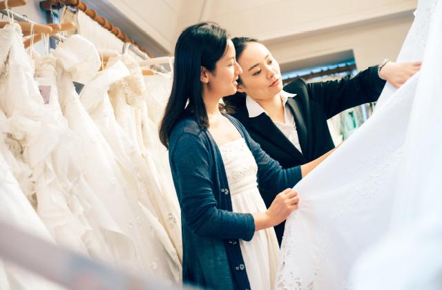 最高にキレイに見える!花嫁の衣装選びのポイント