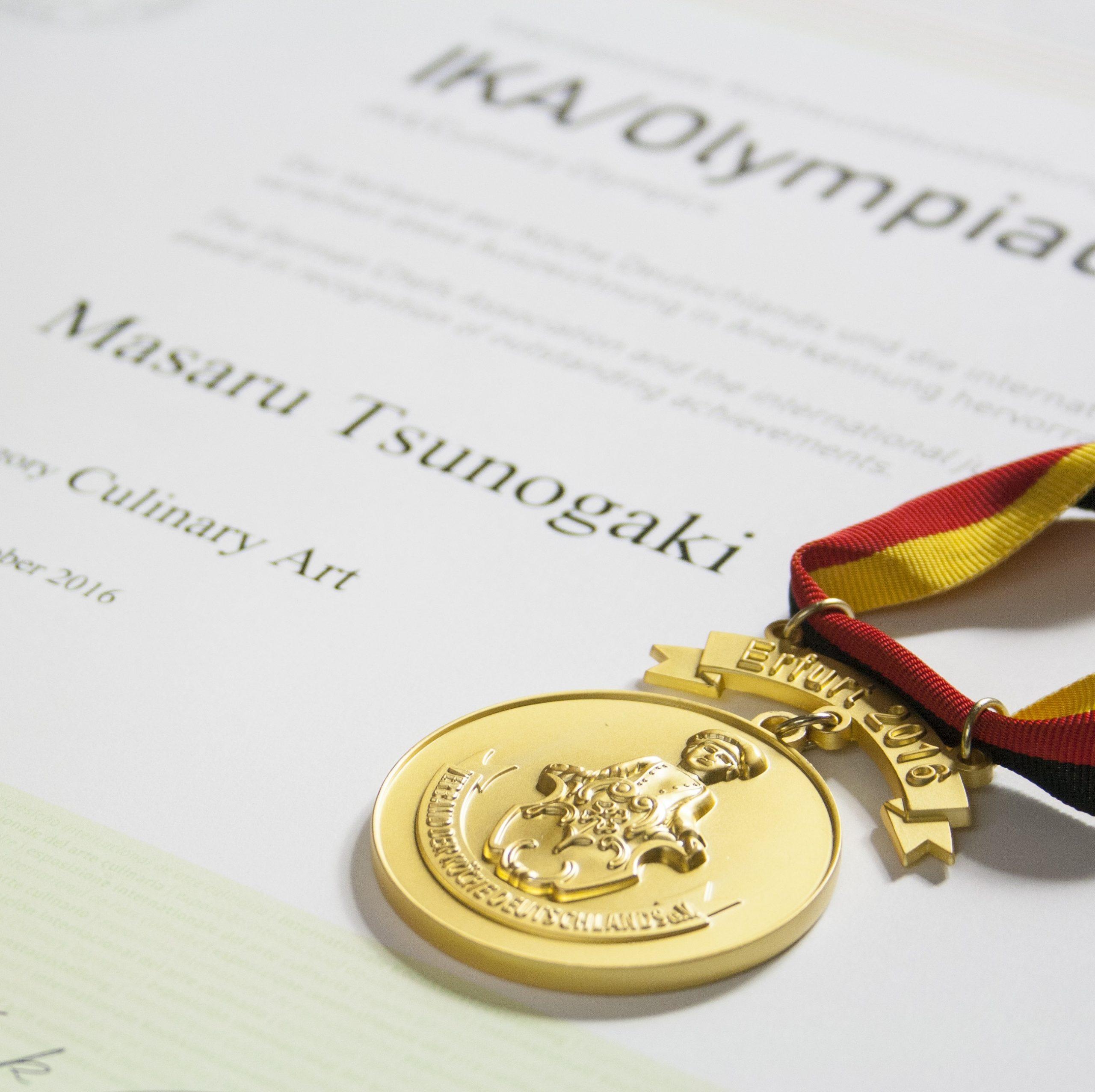 世界料理オリンピック金メダリストが贈る美食フルコース料理